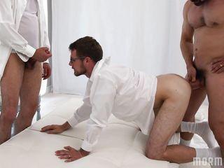Русское групповое гей порно
